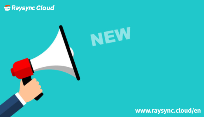 Practical Functions Update of Raysync Cloud Premium Plan