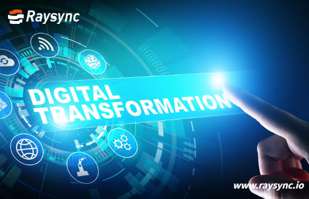Digital Transformation of Financial Institutions Empowered by  Raysync
