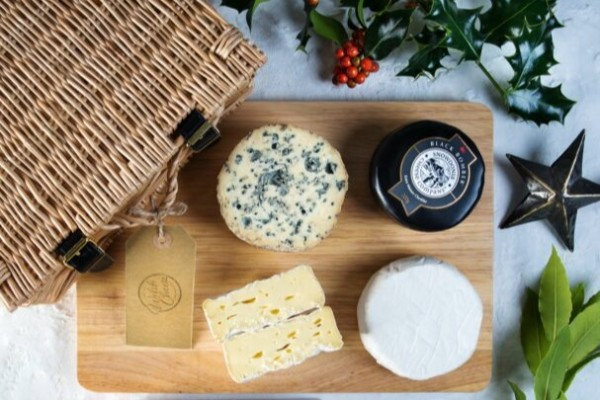 Welsh cheese is the bomb. Who knew? Credit: The Welsh Cheese Company