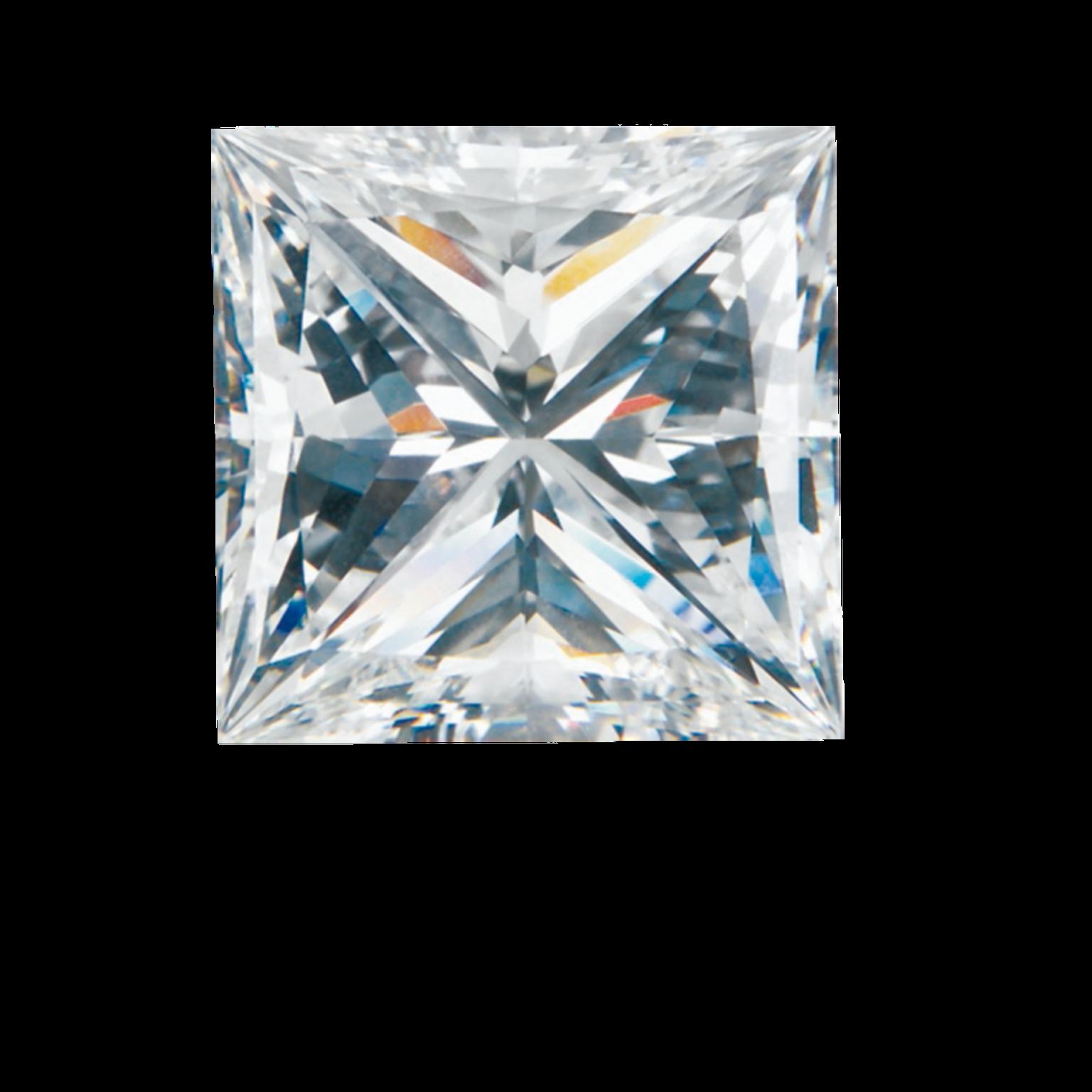 GASSAN Diamonds Princess cut diamond