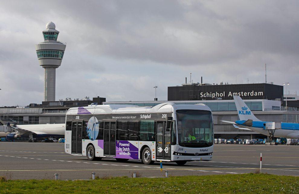 DUURZAME TOEKOMST-optimale mobiliteit 2 elektrisch reizen tussen vliegtuig en gate