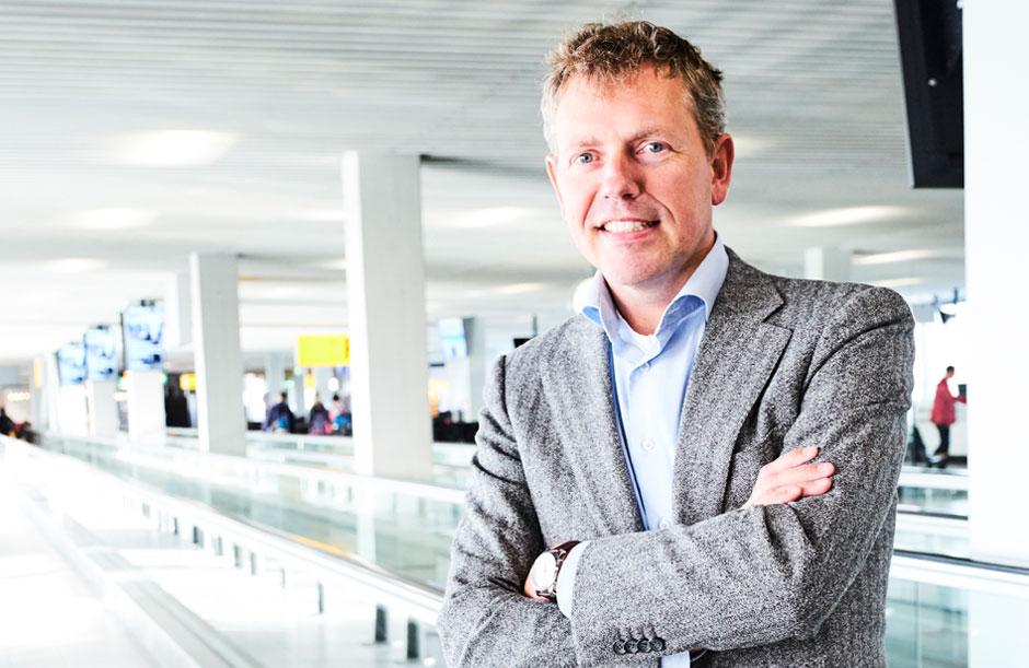 Projectmanager Martijn Hoogenboezem