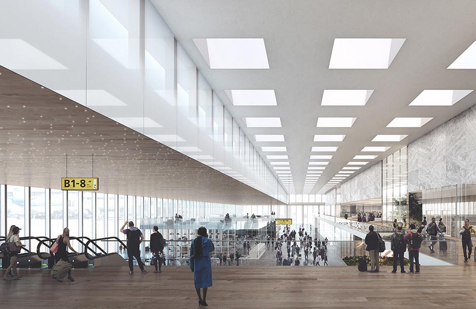 Amsterdam Airport Schiphol Terminal_09_@Beauty & The Bit