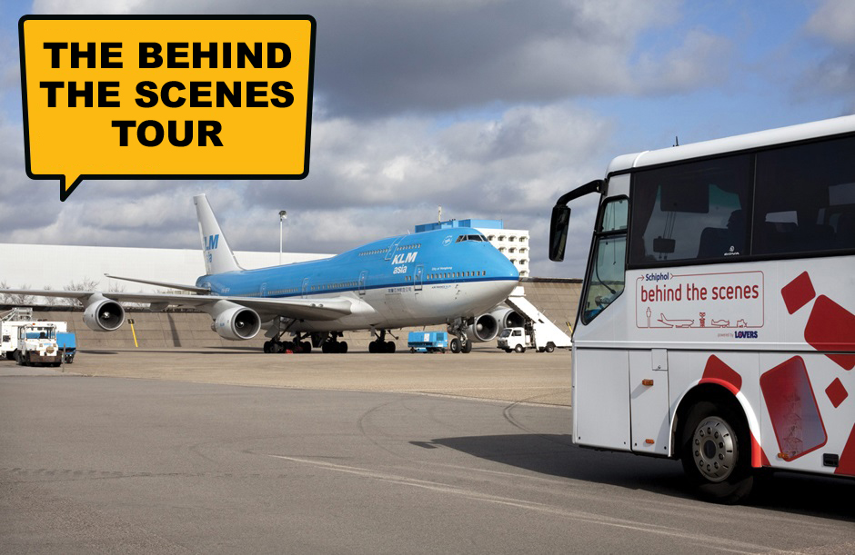 The Tantalising Tour - A day out at Schiphol