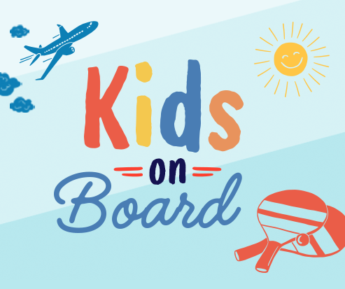 Schiphol | Travelling with children