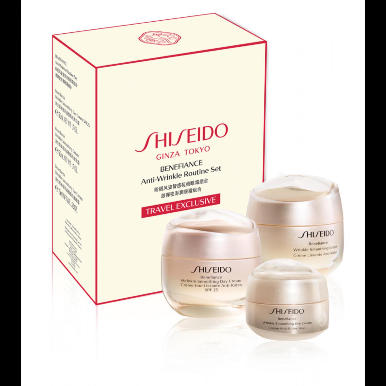 Shiseido Benefiance Anti Wrinkle set