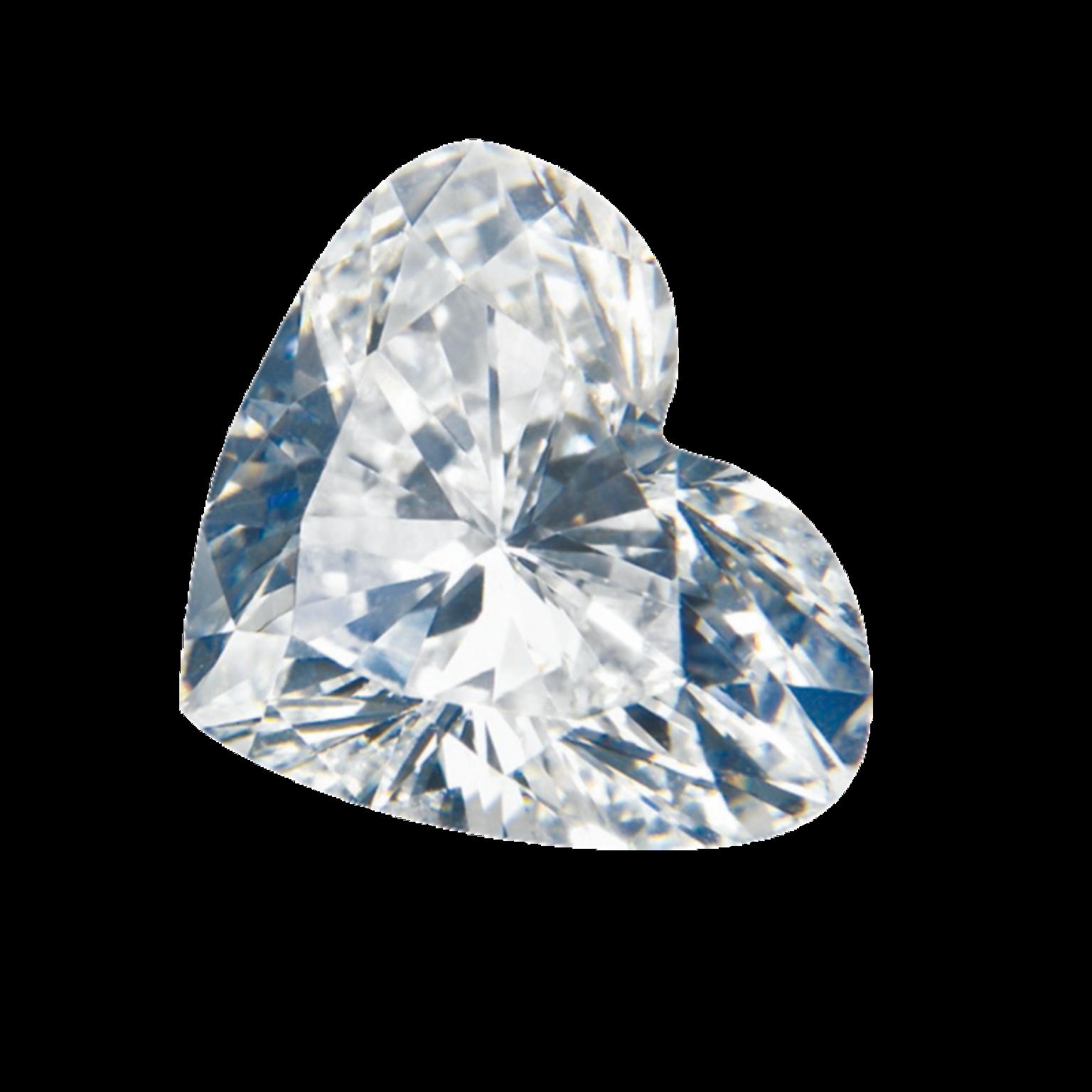GASSAN Diamonds Heart Shape cut diamond