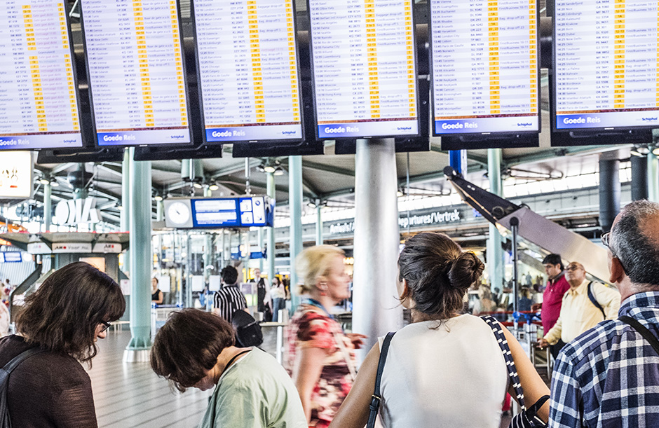 Schiphol   Start your journey well at our airport