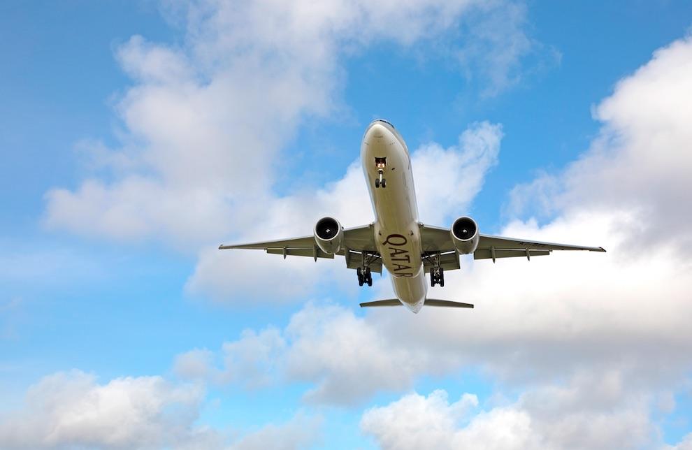 vliegtuig vliegend