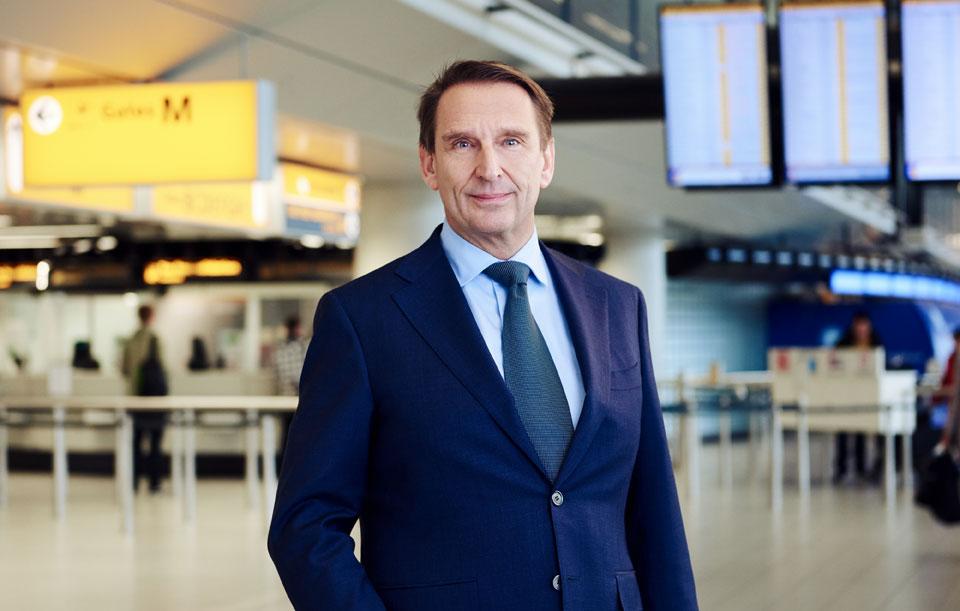 André van den Berg - Chief Commercial Officer (CCO) Schiphol