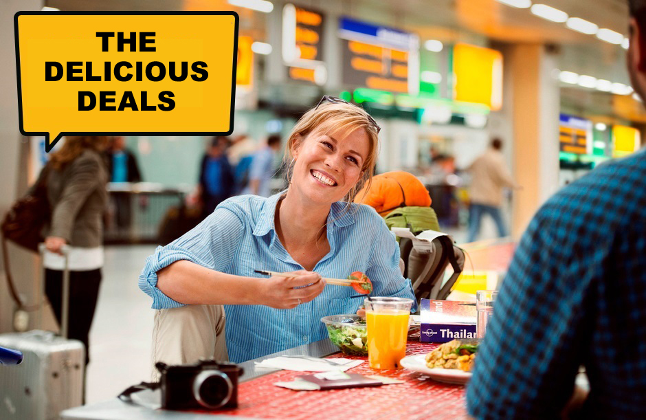 The delicious deals - A day out at Schiphol
