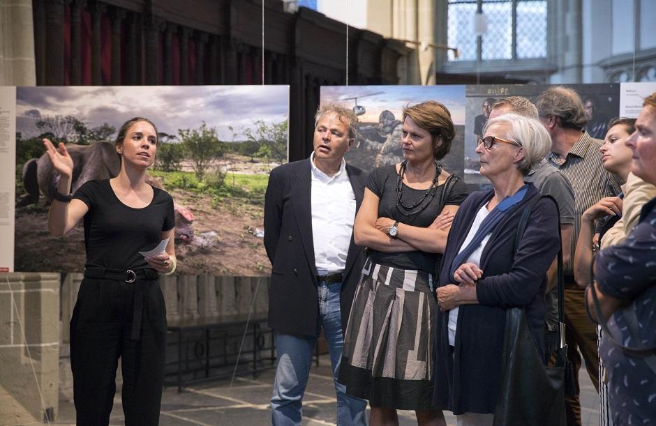 World Press Photo en Schiphol Privium 25