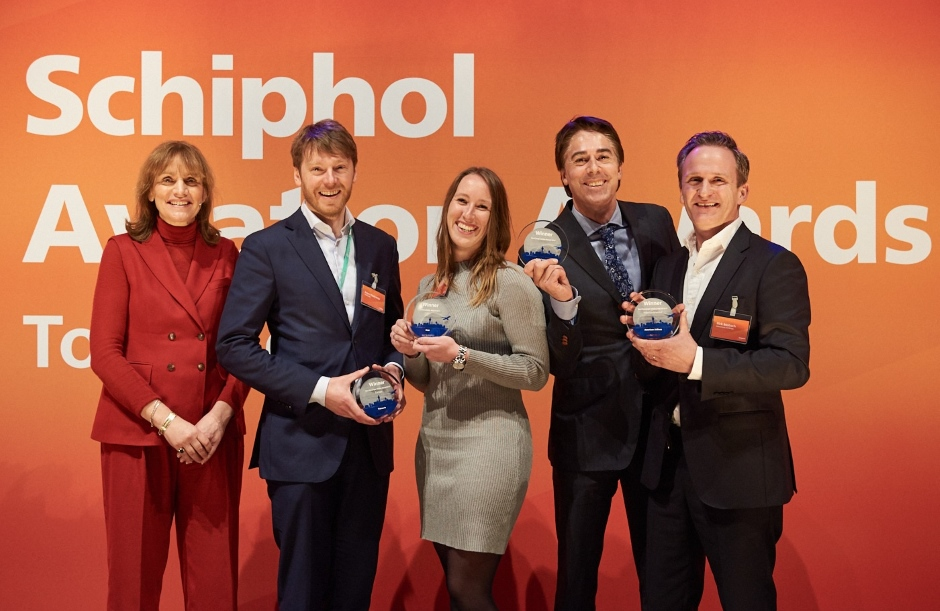 Schiphol Aviation Awards Winners