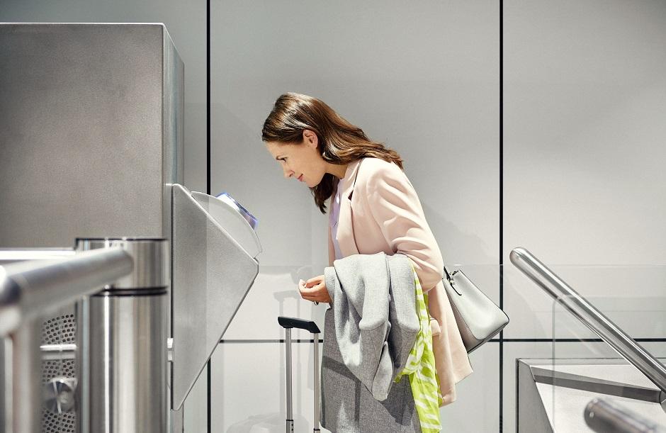Iris scan Schiphol