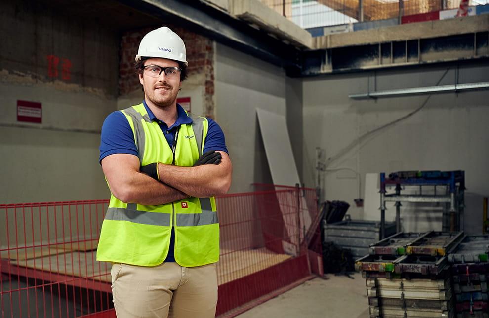 Projectmanager Marc de Graaf