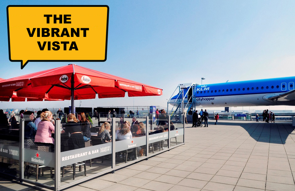 The Vibrant Vista & Tingling Technics - A day out at Schiphol