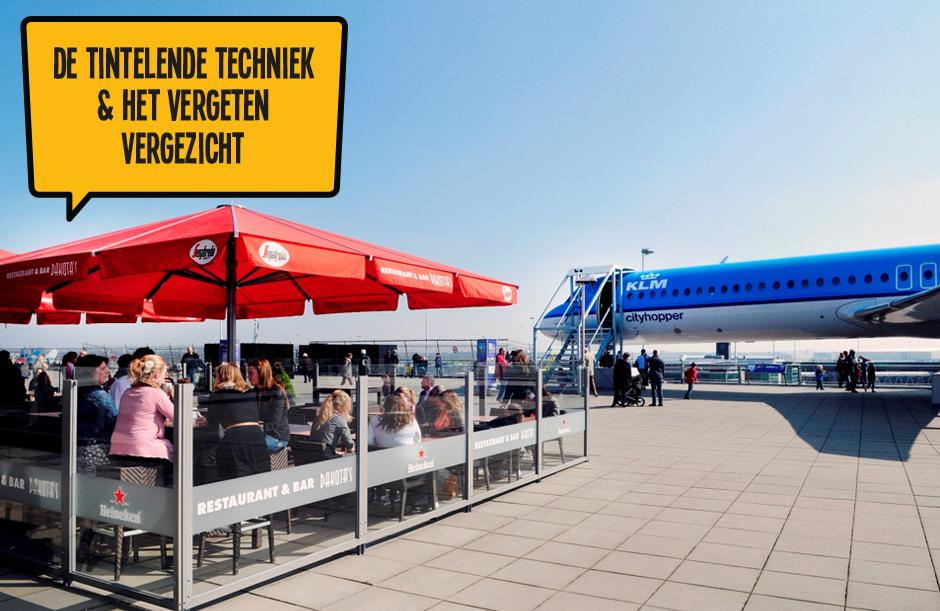 De Tintelende Techniek & Het Vergeten Vergezicht - Dagje Schiphol