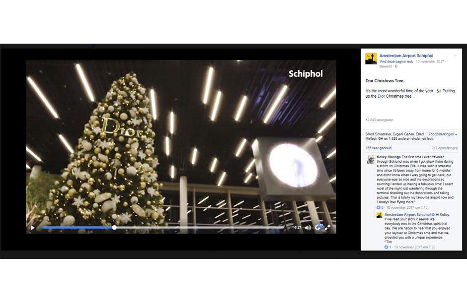 Advertising case Dior Christmas campaign Facebook