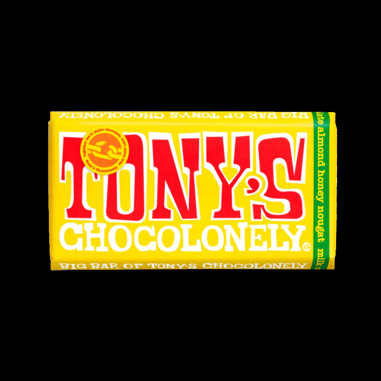 Tony's Chocolonely Milk Nougat Chocolate Bar - 240gram