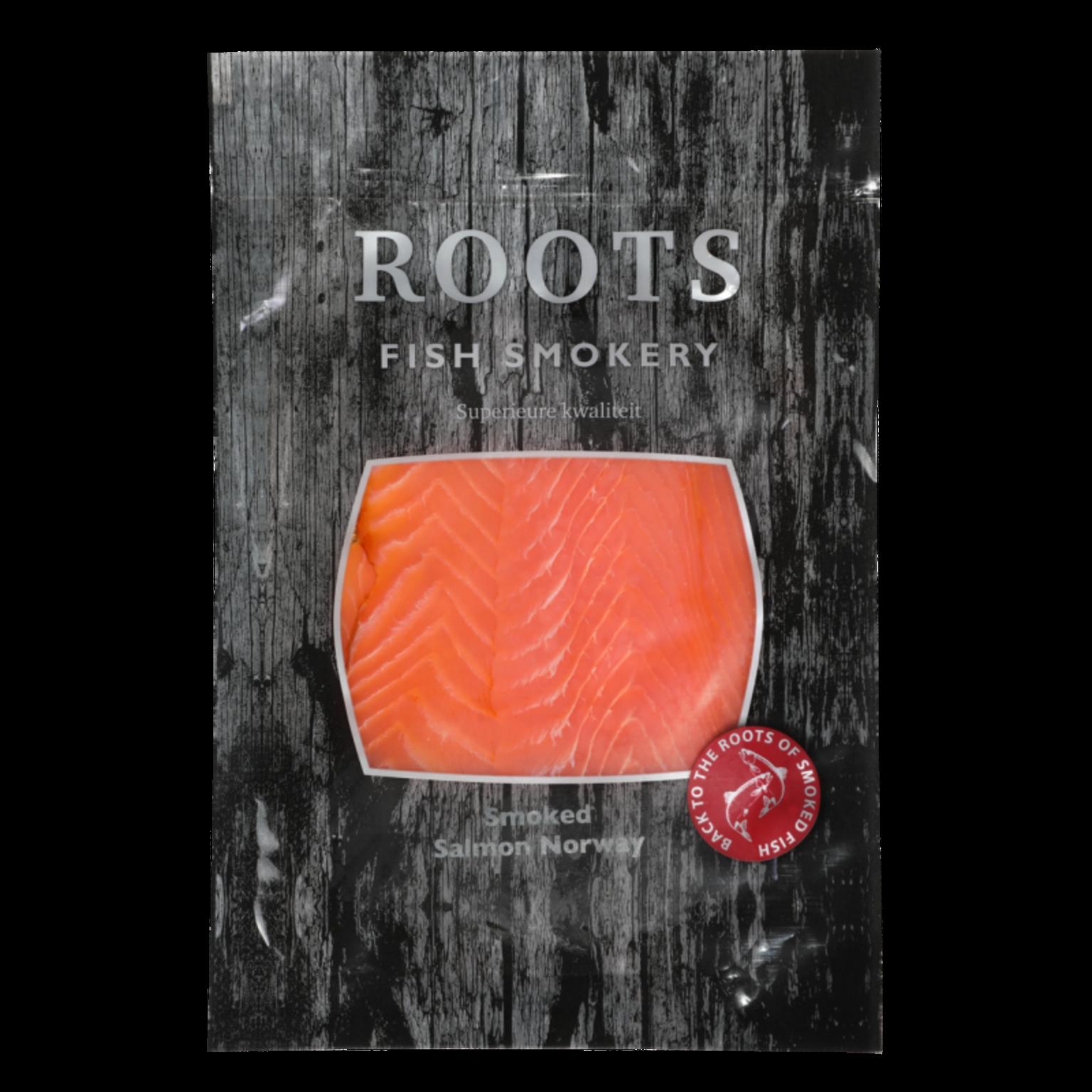 Roots smoked salmon 200g