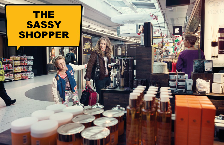 The Sassy Shopper - A day out at Schiphol
