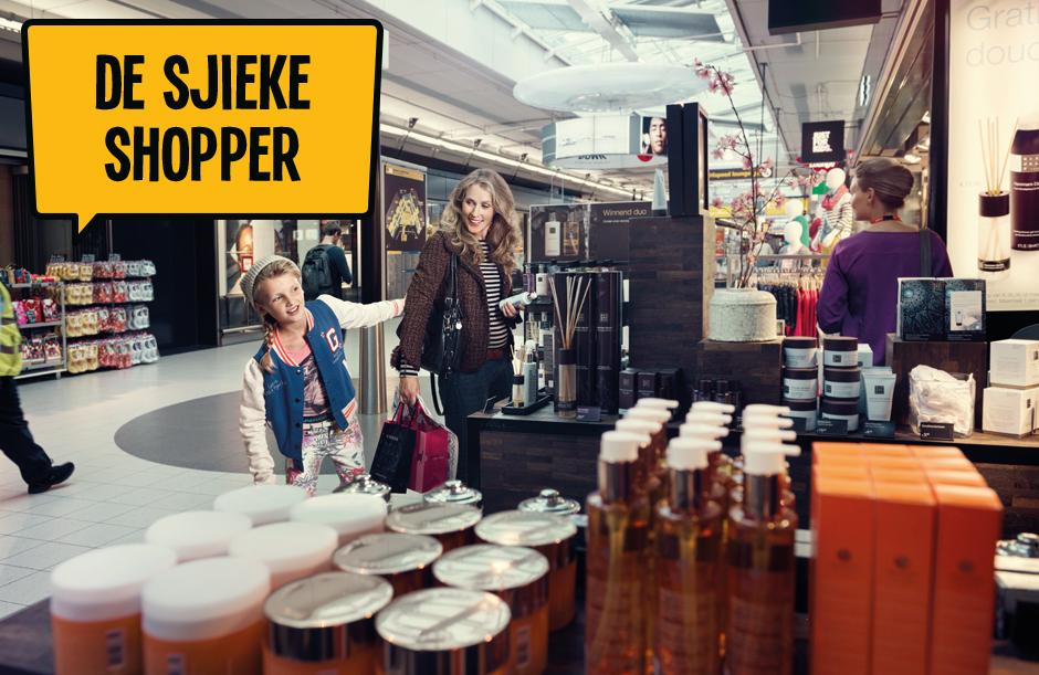 De Sjieke Shopper - Dagje Schiphol