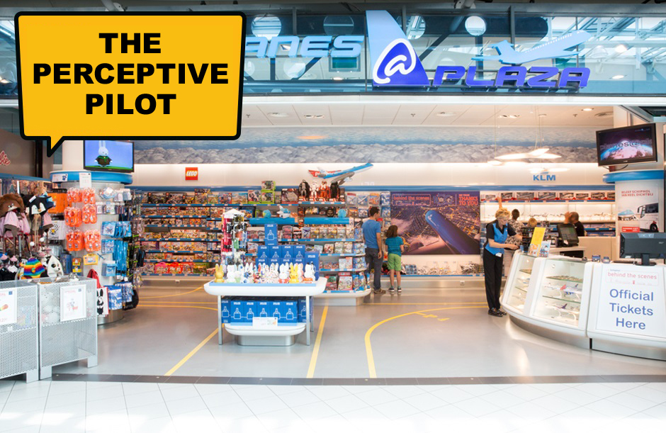 The Perceptive Pilot - A day out at Schiphol
