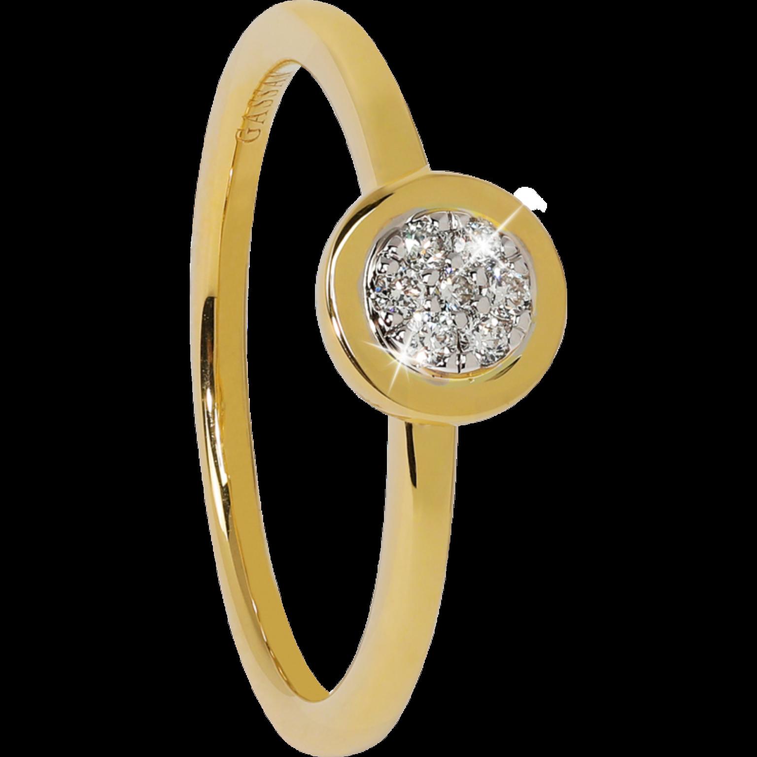 GASSAN Diamonds diamond ring