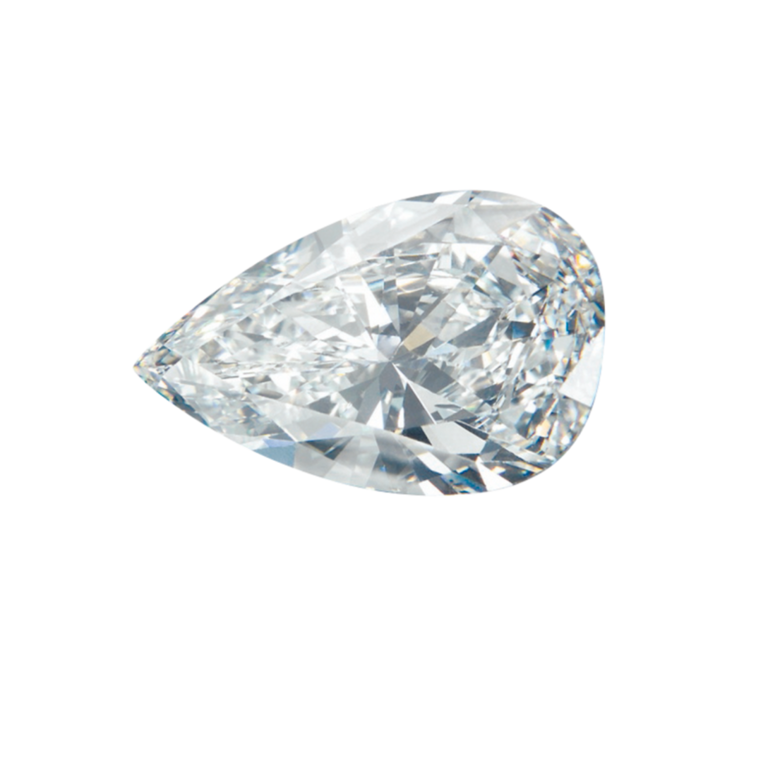 GASSAN Diamonds Pear Shape cut diamond