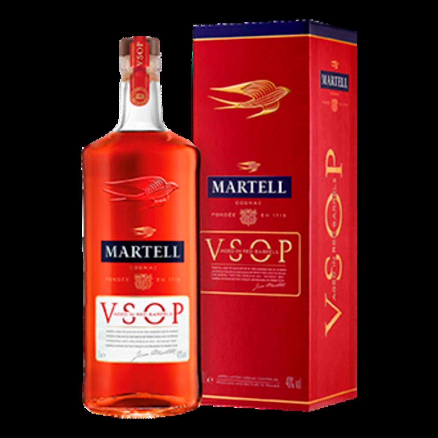 Martell Medaillon VSOP, Cognac, 1 litre.