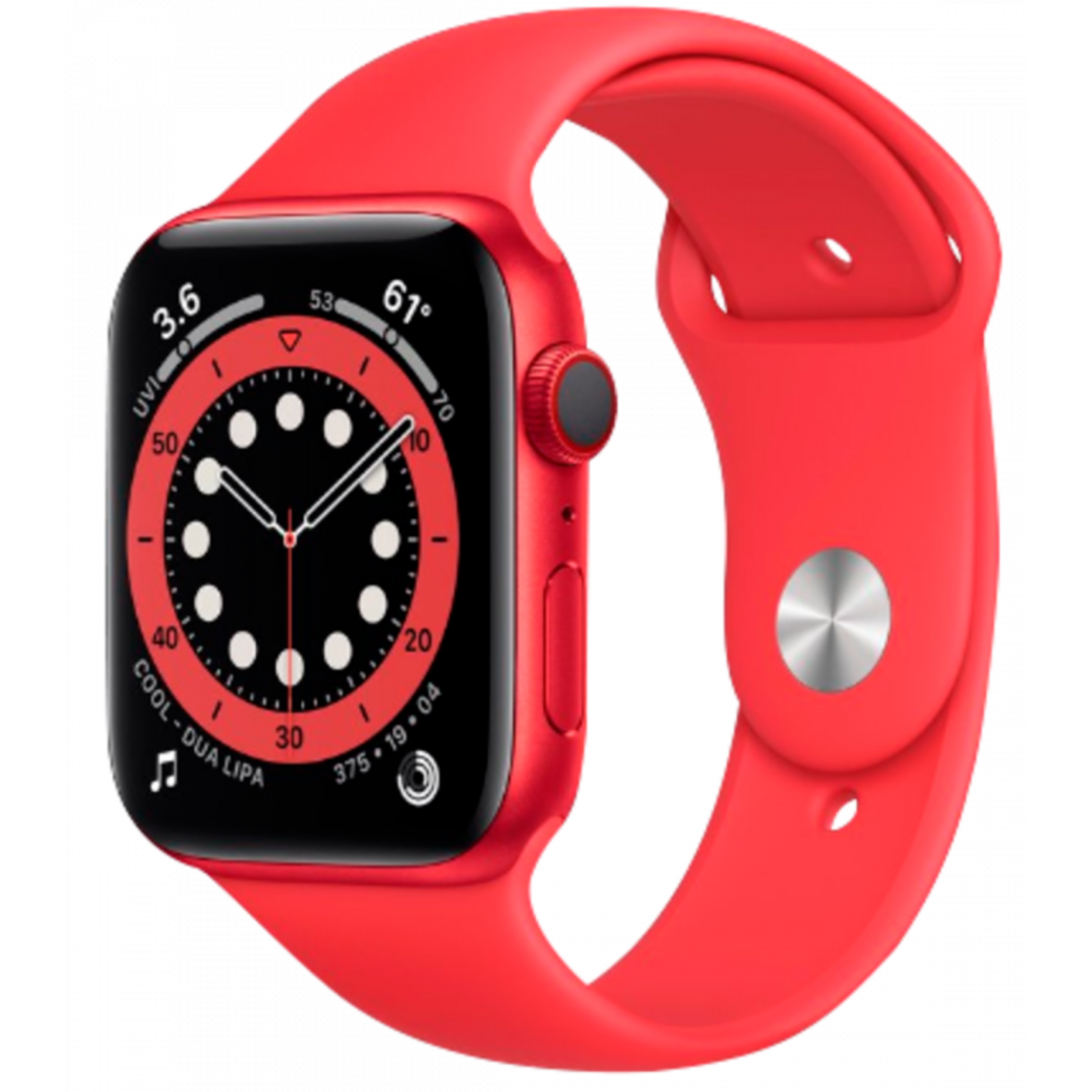 Apple Watch Series 6 40mm Red ALU Red Sportband