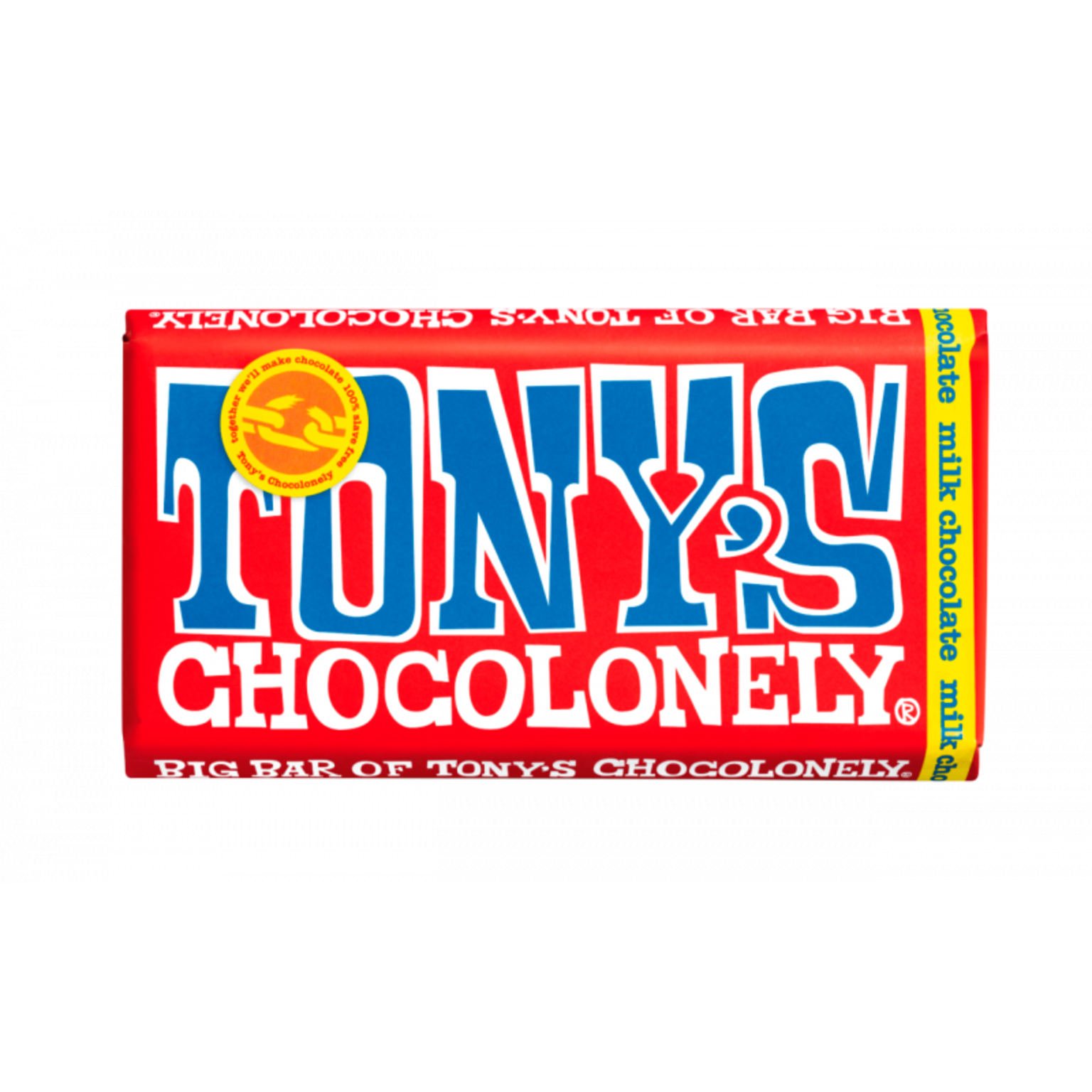 Tony's Chocolonely Milk Chocolate Bar - 240gram