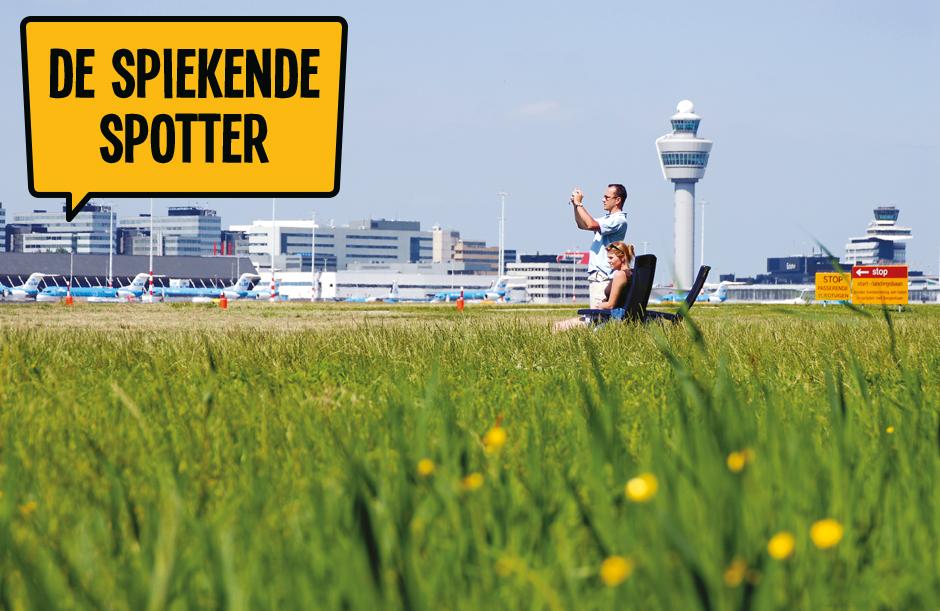 De spiekende spotter - Dagje Schiphol