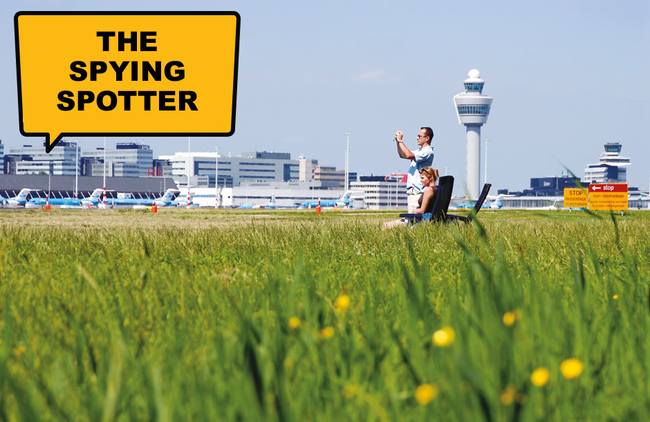 The Spying Spotter - A day out at Schiphol