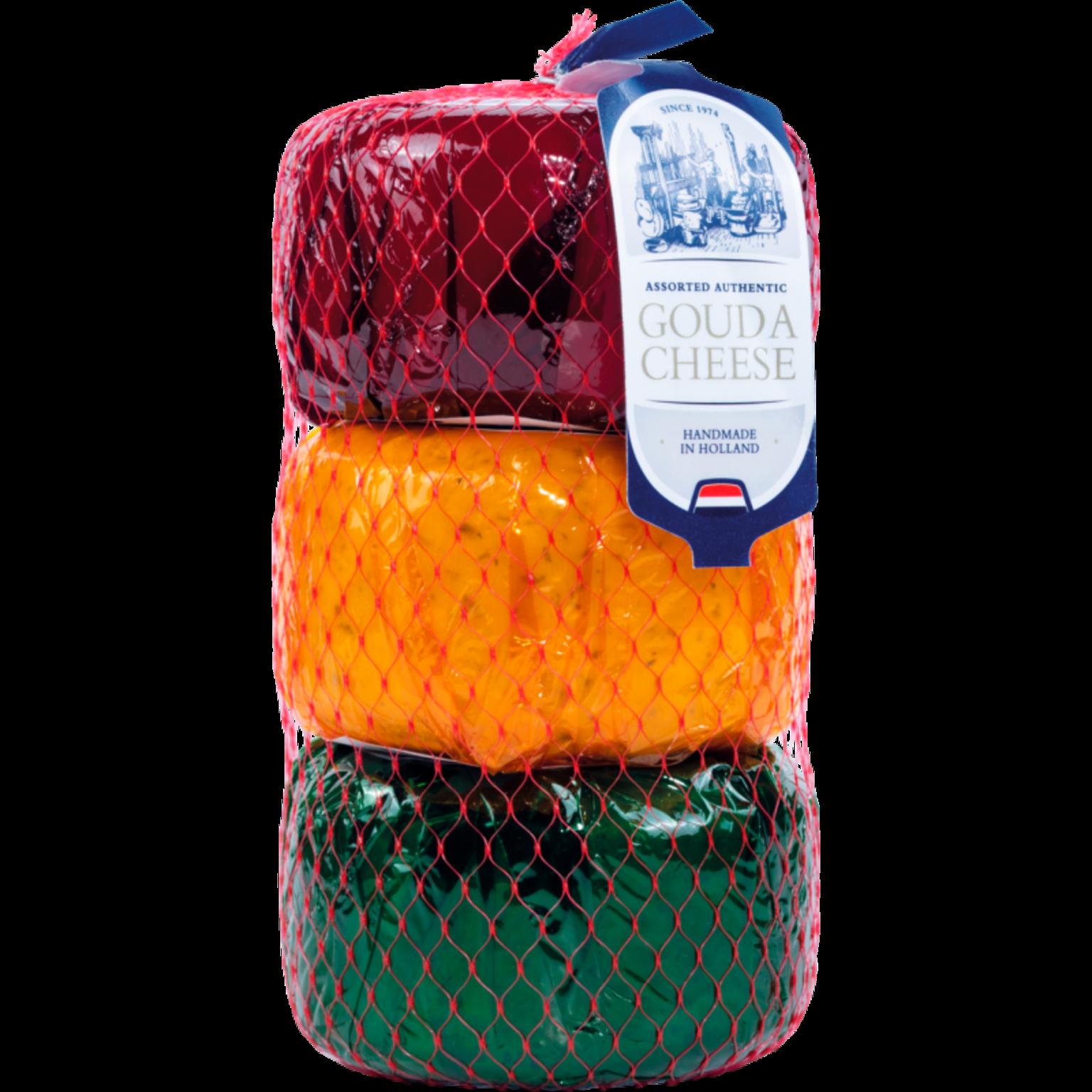 Dutch Gouda cheese 3x400 g