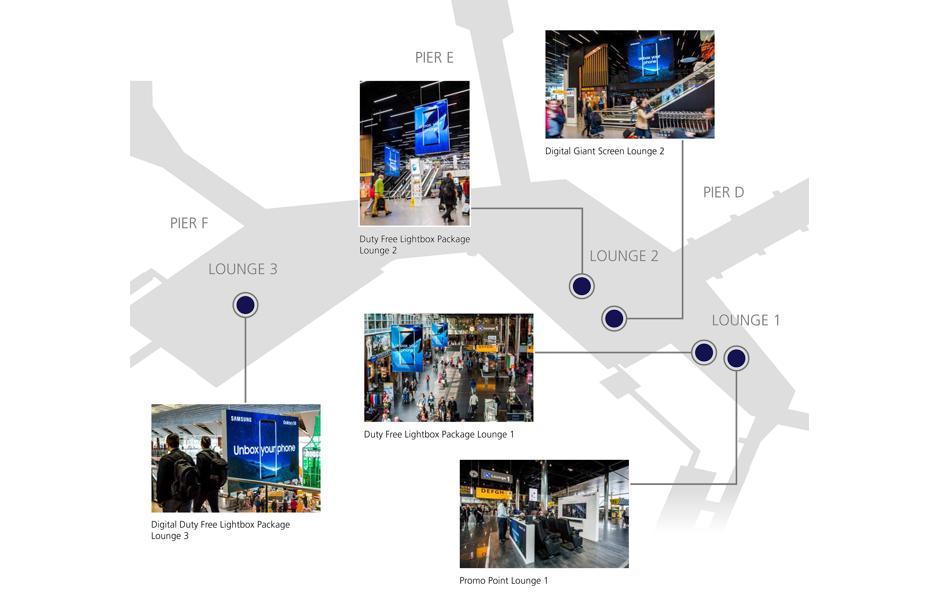 plattegrond advertising case Samsung