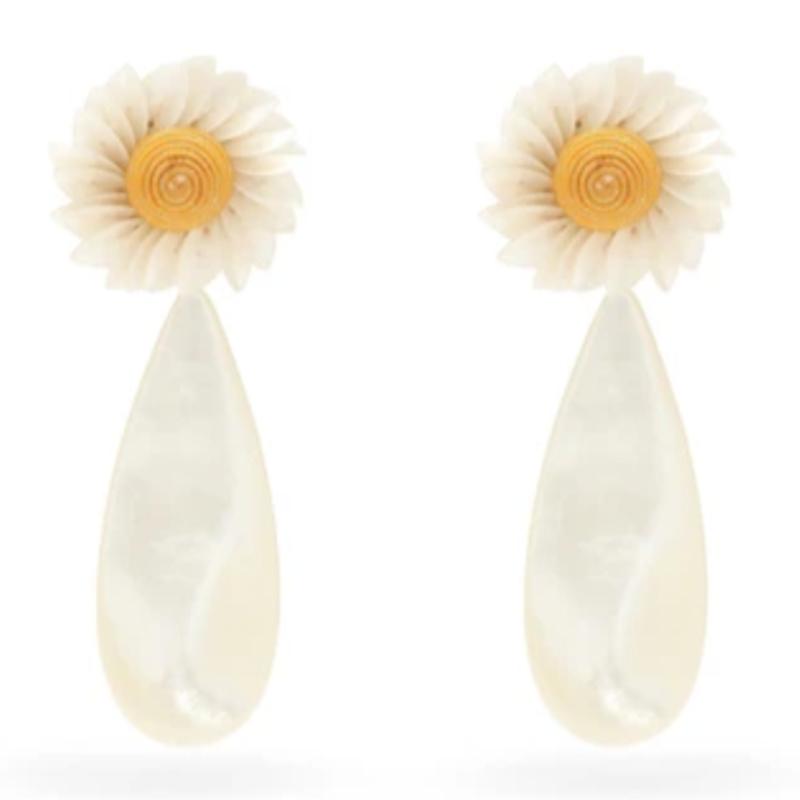 LIzzie Fortunato daisy earrings