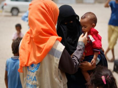 OCHA at work in Aden