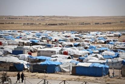 Camp in Al-Hol
