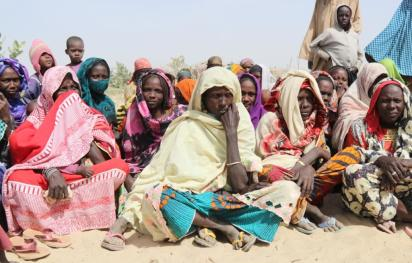 Displaced people in Yakou