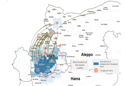 Map of Recent Conflict