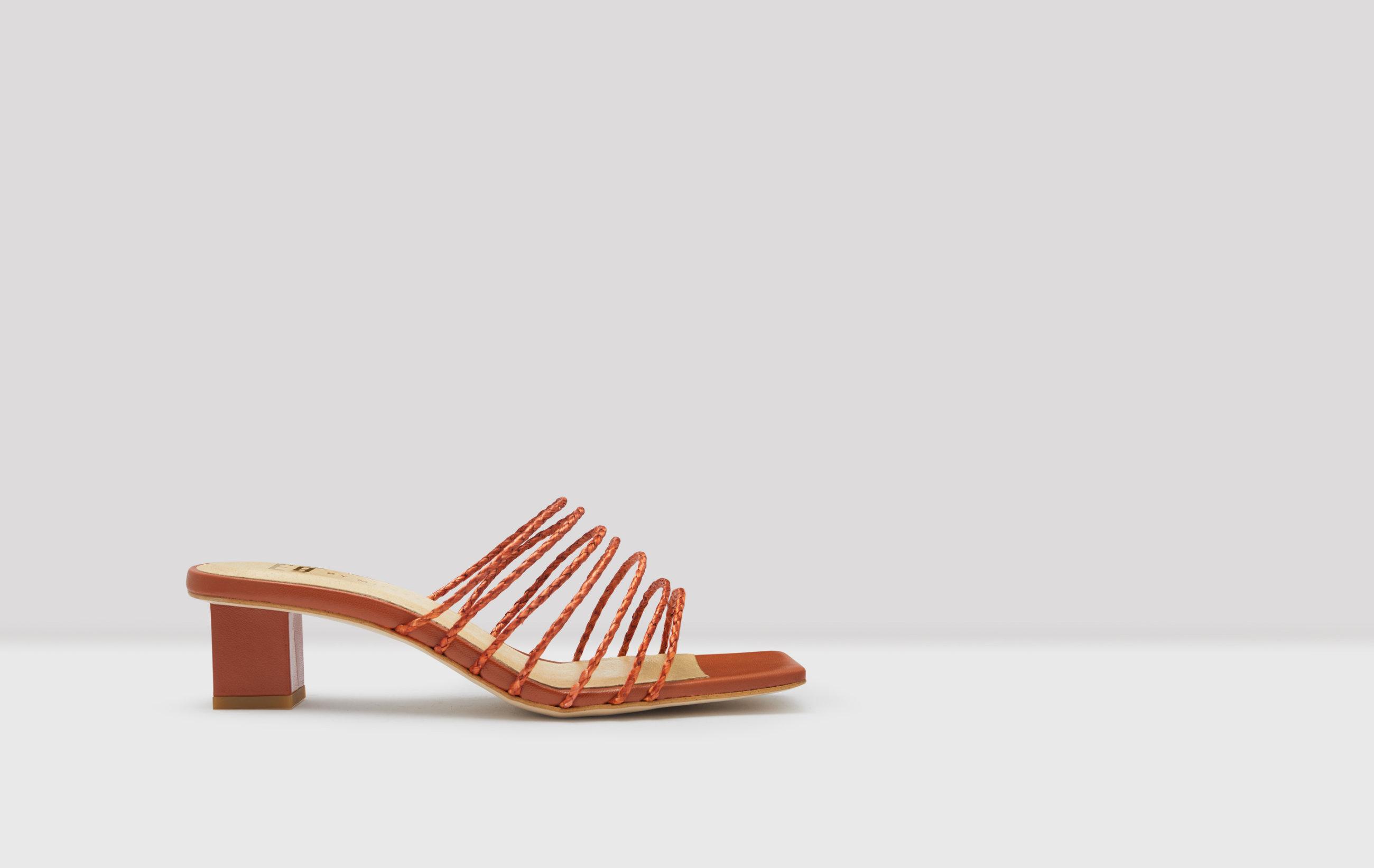 Nahla Tigerlily Raffia Sandals E8 By Miista E8 Sandals