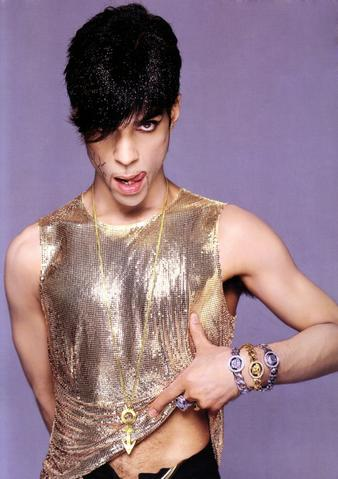 Prince in gold chainmail thing large