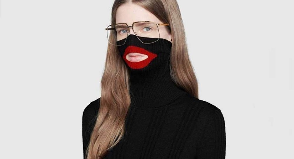 gucci blackface jumper