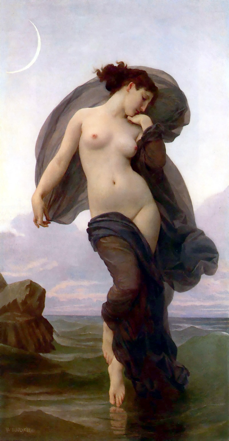 Bouguereau-Evening Mood 1882