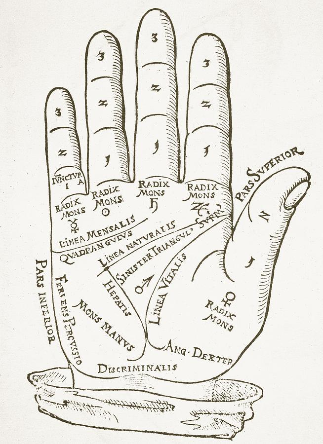 talk to the hand vintage chart
