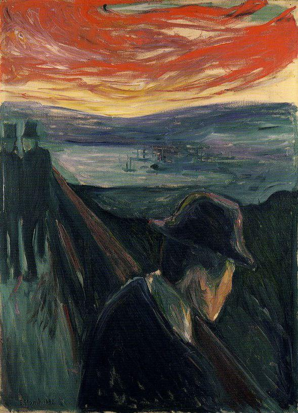 Edvard Munch - Despair 1892
