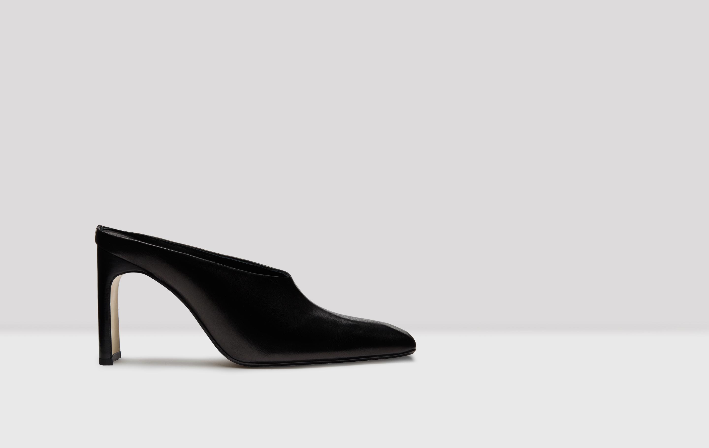 Cele Black Leather Shoes // Miista