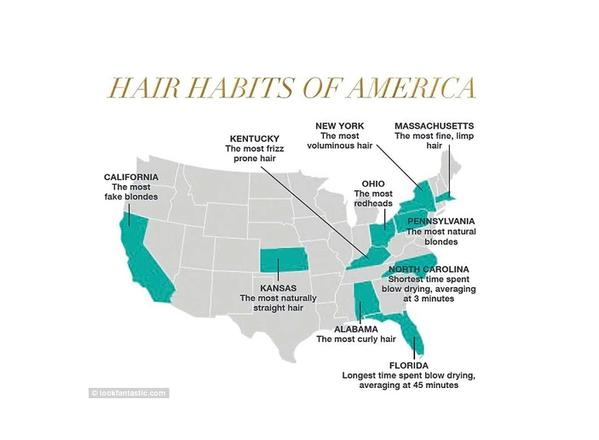 hair map of america grande