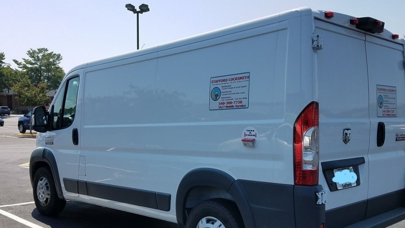 picture of our company van